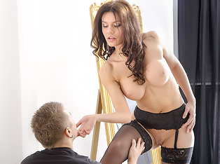Stockings Babe Screwed